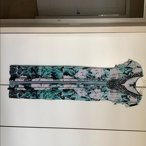 Style & Co by Macy's embellished maxi dress
